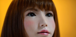 """Erica the acting android will star in the sci-fi film """"b."""""""