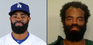 Former LA Dodgers outfielder Andrew Toles was arrested for sleeping behind a Florida Airport