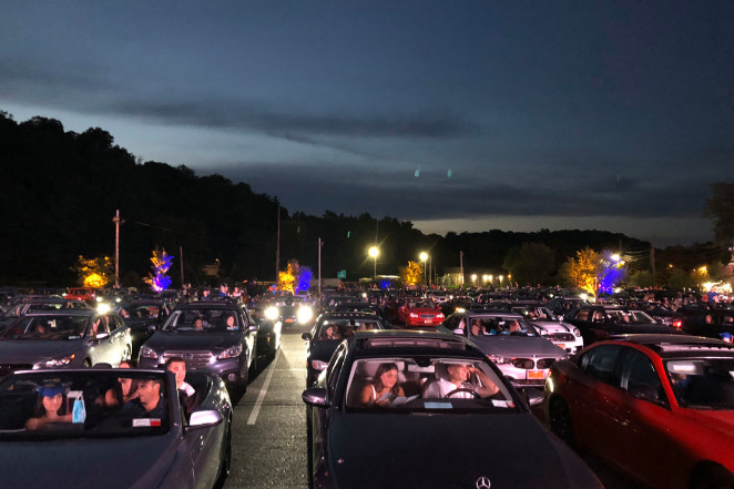Horace Greeley High School in Chappaqua held a drive-in graduation on June 20, 2020. The event has drawn the attention of Gov. Andrew Cuomo because of a few confirmed COVID-19 cases.Twitter