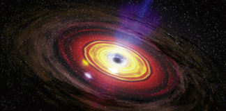 Fastest-growing black hole in the universe is 34 BILLION sun masses big