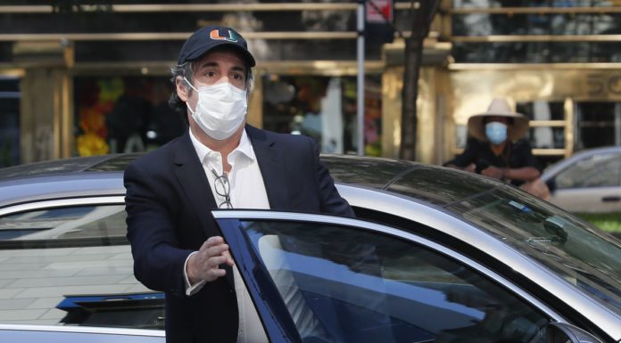 Former POTUS Donald Trump personal lawyer, Michael Cohen, was spotted at a NYC restaurant with his wife that could take him back to prison