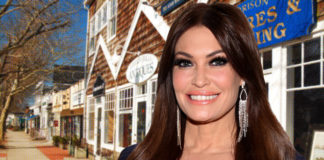 Kimberly Guilfoyle was spotted partying in the Hamptons around 10 days ago.Getty Images