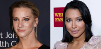 Heather Morris and Naya RiveraGetty Images