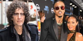 Howard Stern, August Alsina and Jada Pinkett SmithGC Images; Getty Images