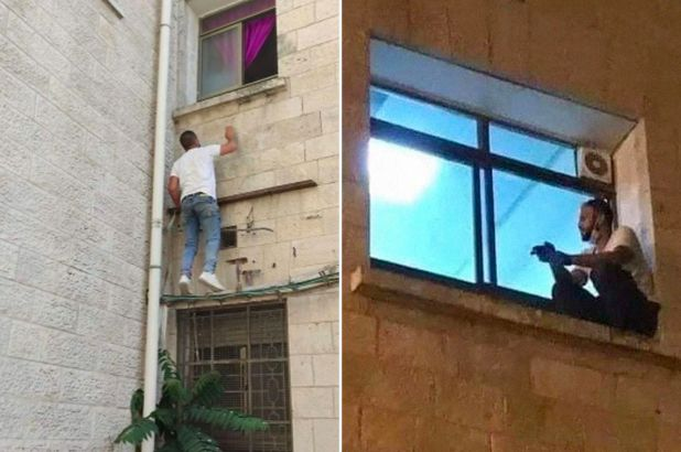 Jihad Al-Suwaiti climbed the hospital wall every night toi watch her mother until she died of COVID-19
