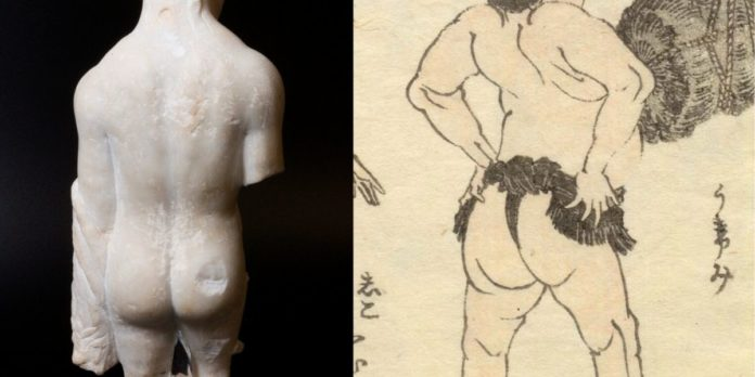 Museums around the world compete to see who has the best butt art