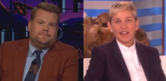 """James Corden could be the official host replacement for """"The Ellen Show"""""""