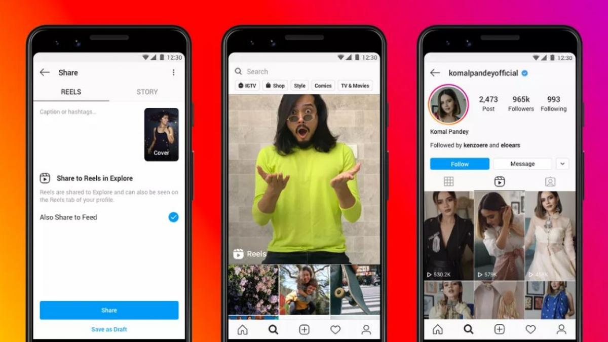 Instagram launches Reels, to compete against TikTok