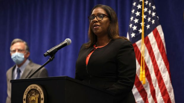 New York Attorney General Letitia James sues to dissolve NRA