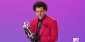 The Weeknd gave his 2020 VMAs acceptance speech with his face all bruised and beat up