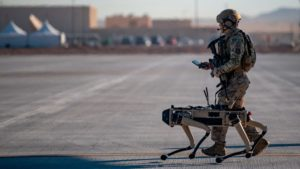US Military to use robot dogs to guard Air Force Base