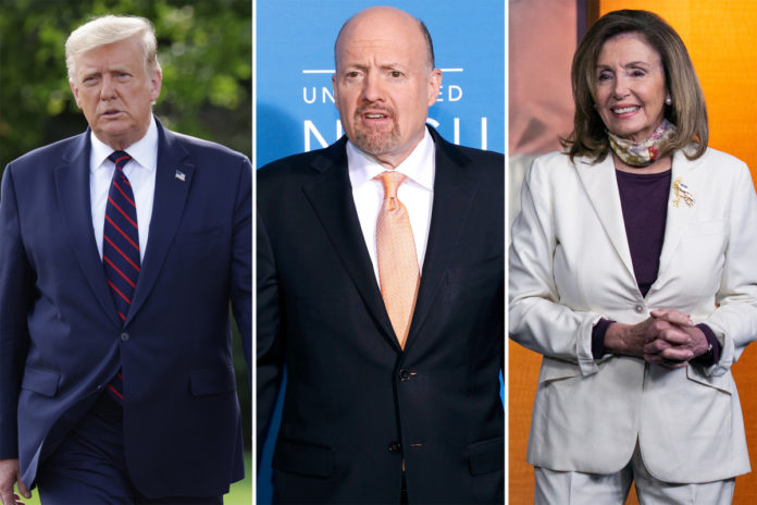 Donald Trumpslams CNBC's Jim Craver for apologizing for calling House Speaker Nancy Pelosi