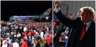 Getty President Donald Trump drew a crowd of thousands at his September 21 rally in Swanton, Ohio.
