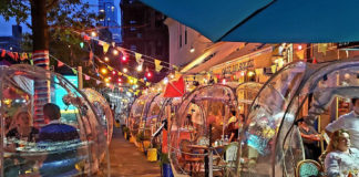 Photograph: @rflnychttps://www.timeout.com/newyork/news/an-upper-west-side-restaurant-installed-space-bubbles-for-outdoor-dining-this-fall-092120