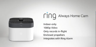 Ring's latest security device is a drone that flies indoors and records while mid-air