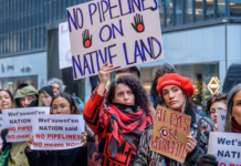 Facebook mistakenly suspended hundreds of Coastal GasLink Pipeline protesters