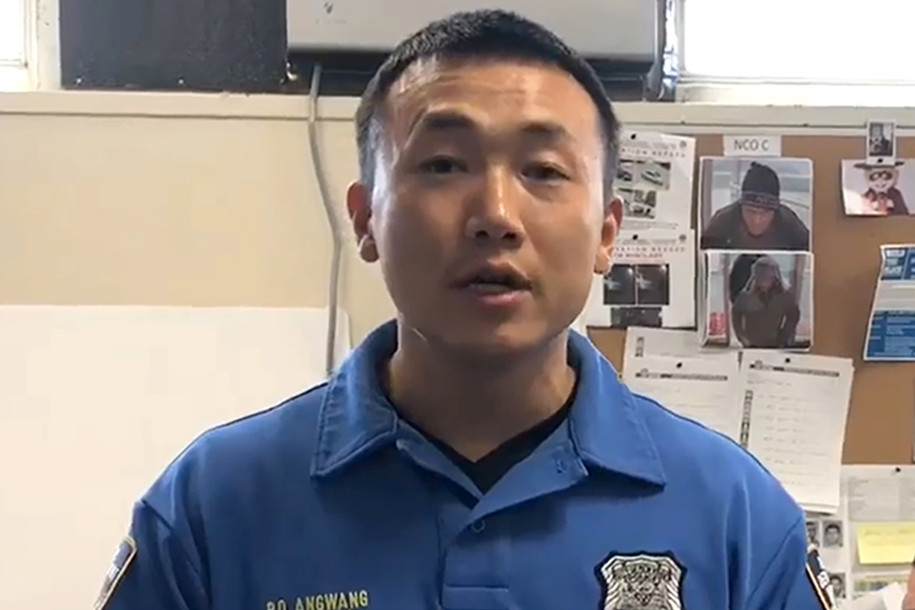 NYPD Officer Baimadajie Angwang was arrested and revealed to be an alleged Chinese spy.Facebook