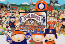 South Park citizens to fill up empty stands at Sunday/s Denver Broncos game