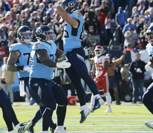Eight NFL Tennessee Titans players test positive for COVID-19