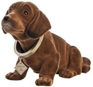 Google honors the Dachshund Bobblehead history with a doodle for it