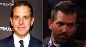 "Donald Trump Jr. blasts Hunter Biden with ""crackhead Hunter"" in radio interview"