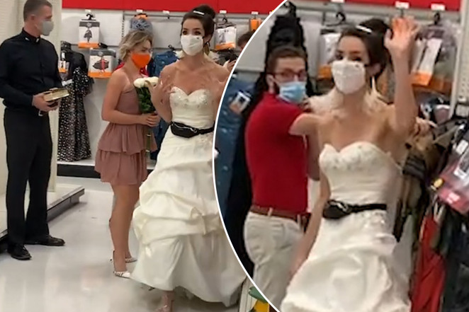 A video of an impatient bride confronting her fiancé at Target is going viral on TikTok.Caters FILED UNDER BRIDES , RELATIONSHIPS , VIRAL VIDEOS , WEDDINGS , 10/13/20