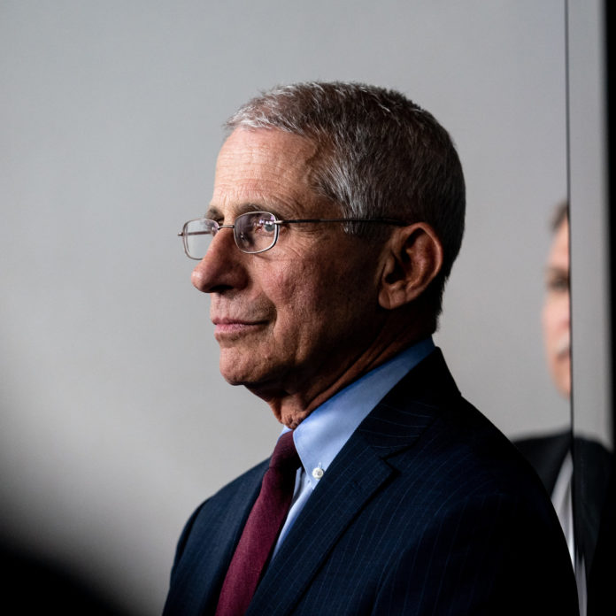 Dr. Anthony Fauci doesn't vow for a national lockdown unles sCOVID-19 pandemic in the US gets