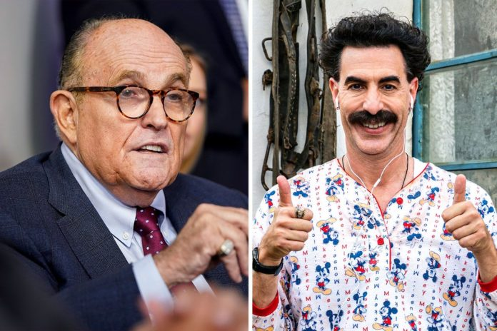 Rudy Giuliani speaks abput that compromising scene between him and Maria Bakalova in that hotel room, for Borat 2