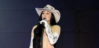 Noah Cyrus shocked everyone with a se-through bodysuit as her outfit for the 2020 CMT Awards