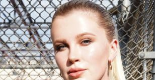 Ireland Baldwin posed topless on Instagram, to encourage people to vote
