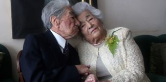 World's oldest couple's husband has died aged 110