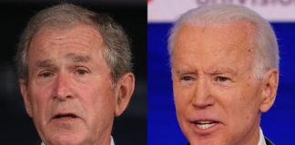 Joe Bioden mixes up current US president Donald Trump with George W. Bush