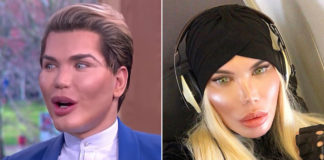 'Human Ken Doll' reveals her sexy new curves 1 year into transgender life