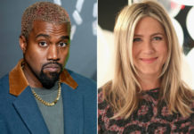 Kanye West reacts to Jennifer Aniston