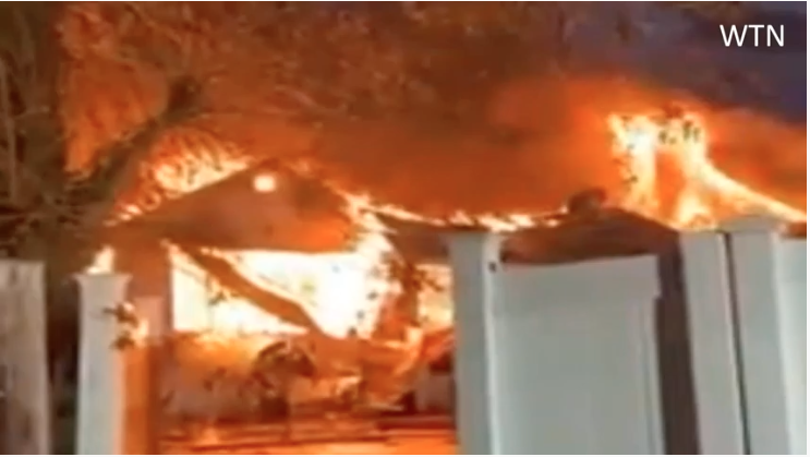 Massive Gas Explosion Near JFK Airport Destroys Three Long Island Houses in Fire