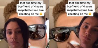 Sydney Kinsch discovered her boyfriend was cheating on her thanks to a detail on his sunglasses when he snapchatted her