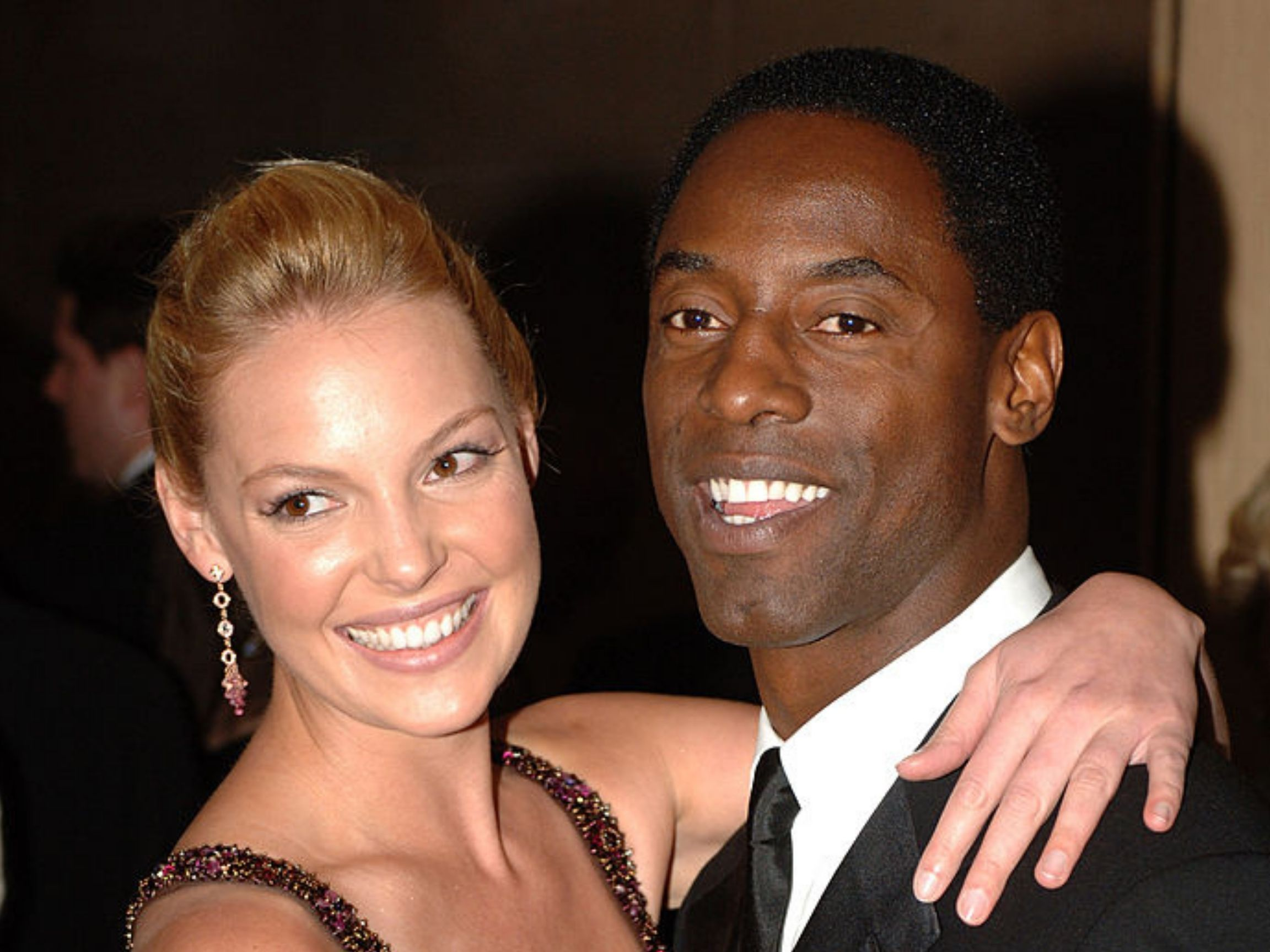 Isaiah Washington brings back feud on Grey's Anatome Katherine Heigl on Twitter