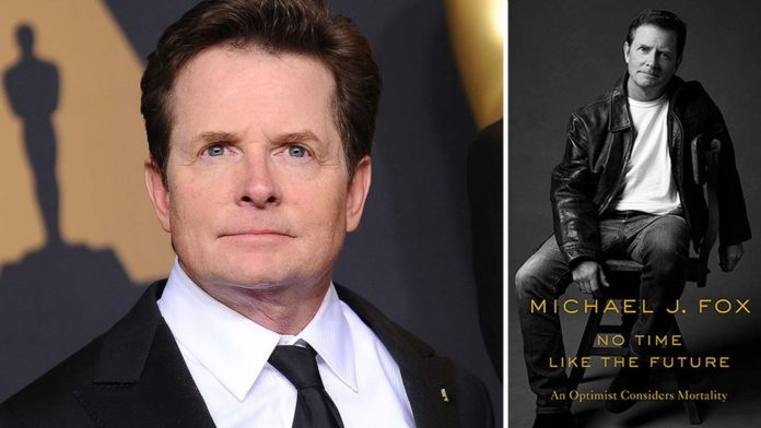 Michael J. Fox is thinking on a