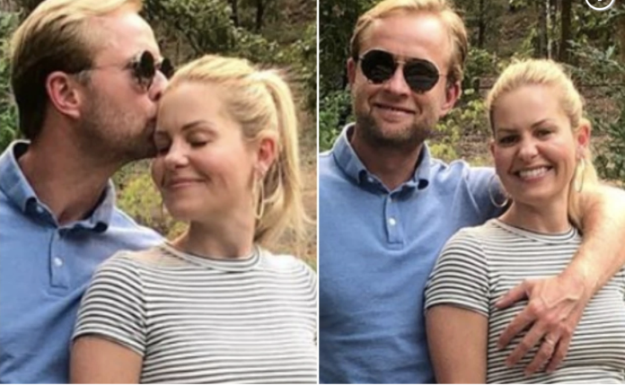 Candace Cameron Bure and husband Valeri Bure as seen in an Instagram post Candace Cameron Bure Instagram