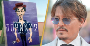 It seems as if in the Animaniacs trailer they mock Johnny Depp, whose undergone a legal battle lost against Amber Heard