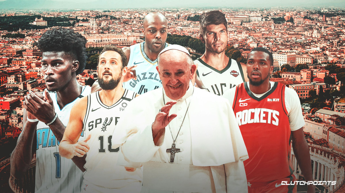 Pope Francis to discuss social inequalities with NBA players