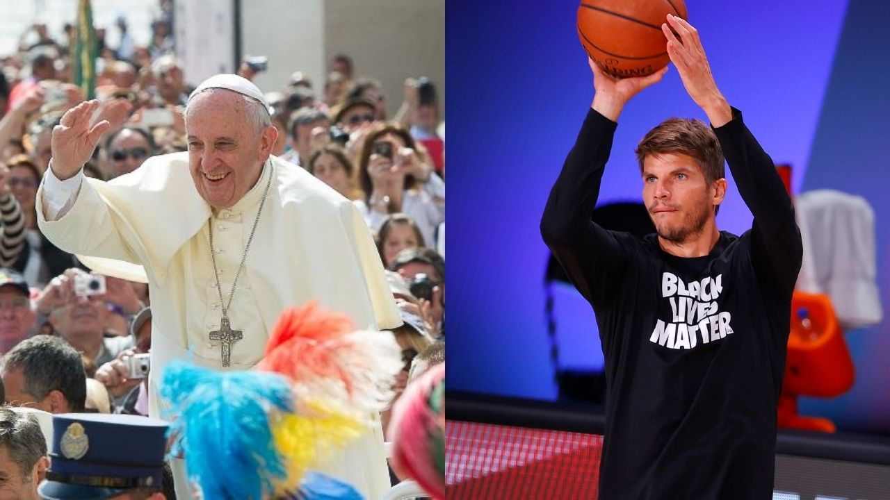 Pope Francis discusses social justice with NBA players in the Vatican