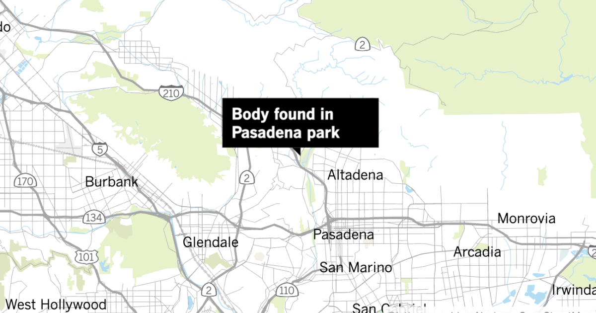Jogger finds woman's body dumped in  California Park