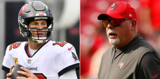 Heat is picking up between Bruce Arians and Tom Brady