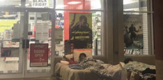 Gamer brings bed outside store to wait for the PS5 Black Friday deal