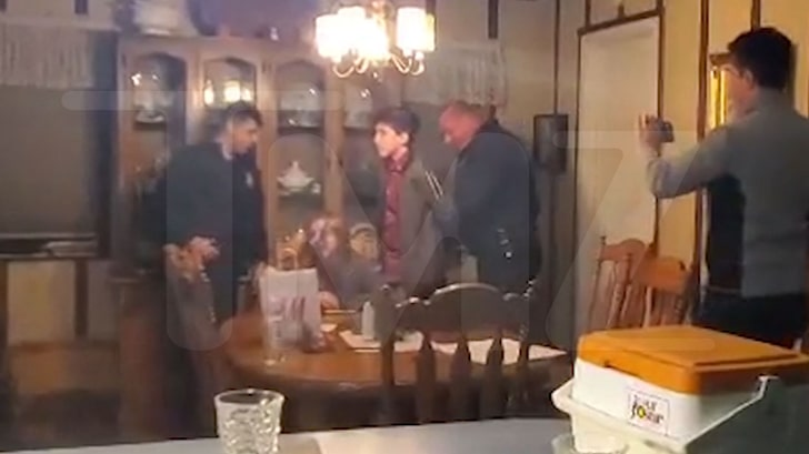 The moment when the kids got arrested