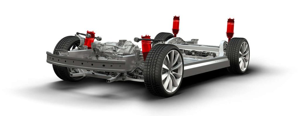 The NHTSA is probing 115,000 Tesla vehicles in suspension safety problems