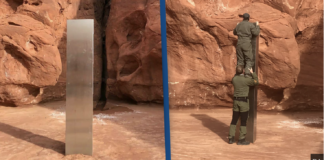 That Mysterious Metal Monolith In Utah Desert Has Vanished, Officials Say