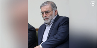 Iranian nuclear scientist Mohsen Fakhrizadeh Office of the Iranian Supreme Leader via AP