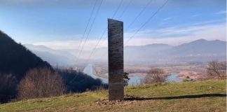 Another mysterious metal monolith like the one missing in Itah appeared in Romania